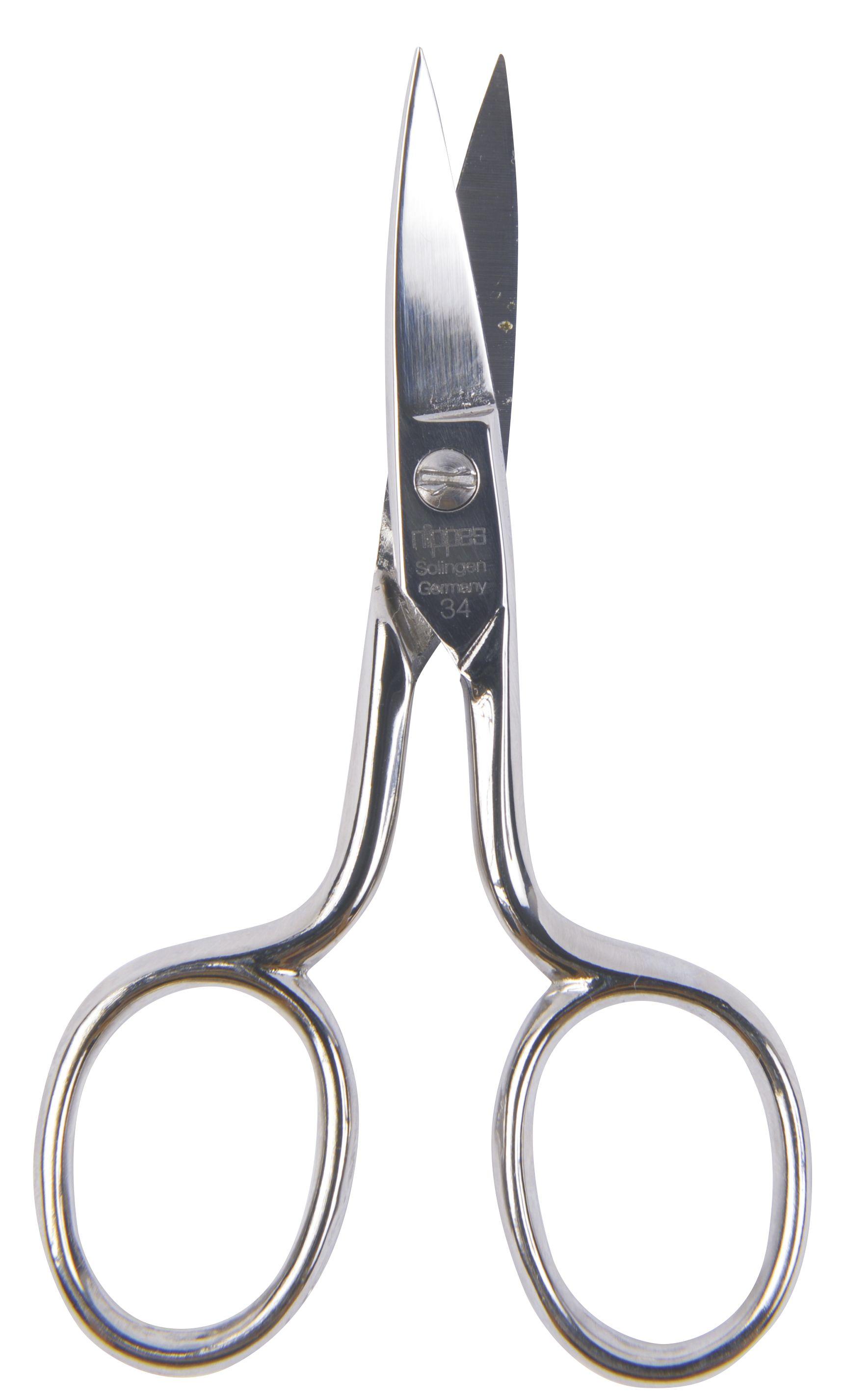 Nippes Solingen Nůžky na nehty zahnuté 9 cm 1 ks