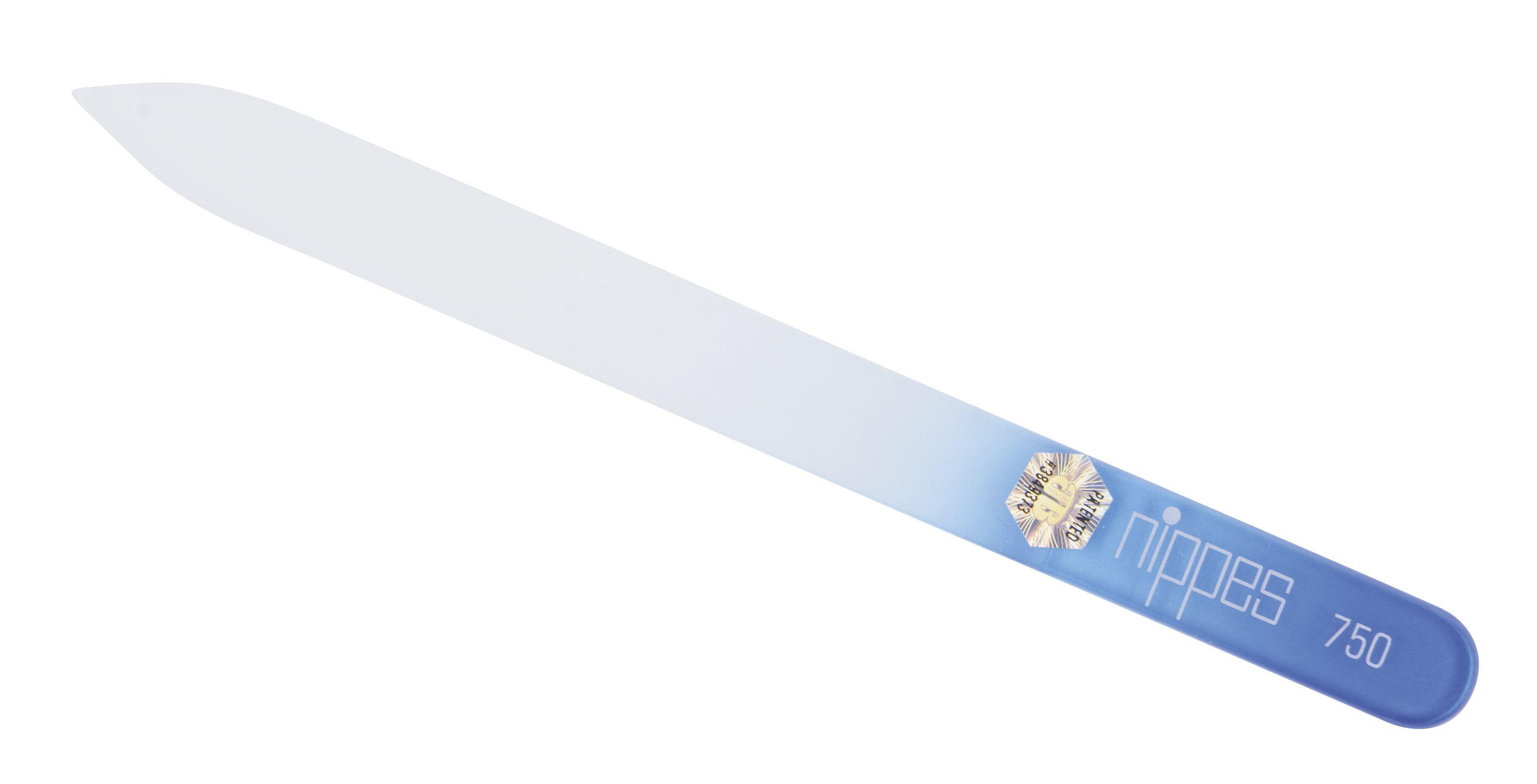 Nippes Solingen Pilník na nehty skleněný duhový 14 cm 1 ks
