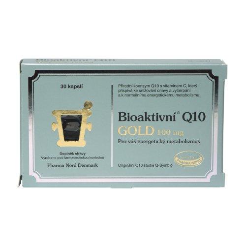 Bioaktivní Q10 Gold 100 mg 30 kapslí