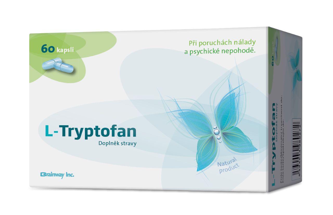 Brainway L-Tryptofan 60 kapslí