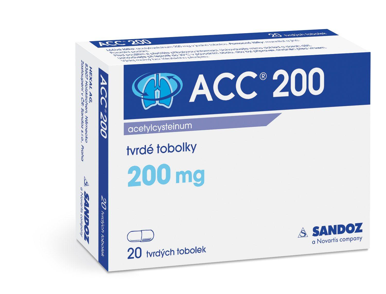 ACC 200 200 mg 20 kapslí