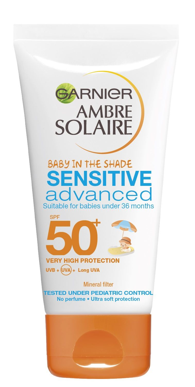 Garnier Ambre Solaire Sensitive Advanced Kids SPF50+ ochranný krém 50 ml