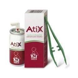 E-shop Atix Sada pro bezpečné odstraňování klíšťat sprej 9 ml + pinzeta
