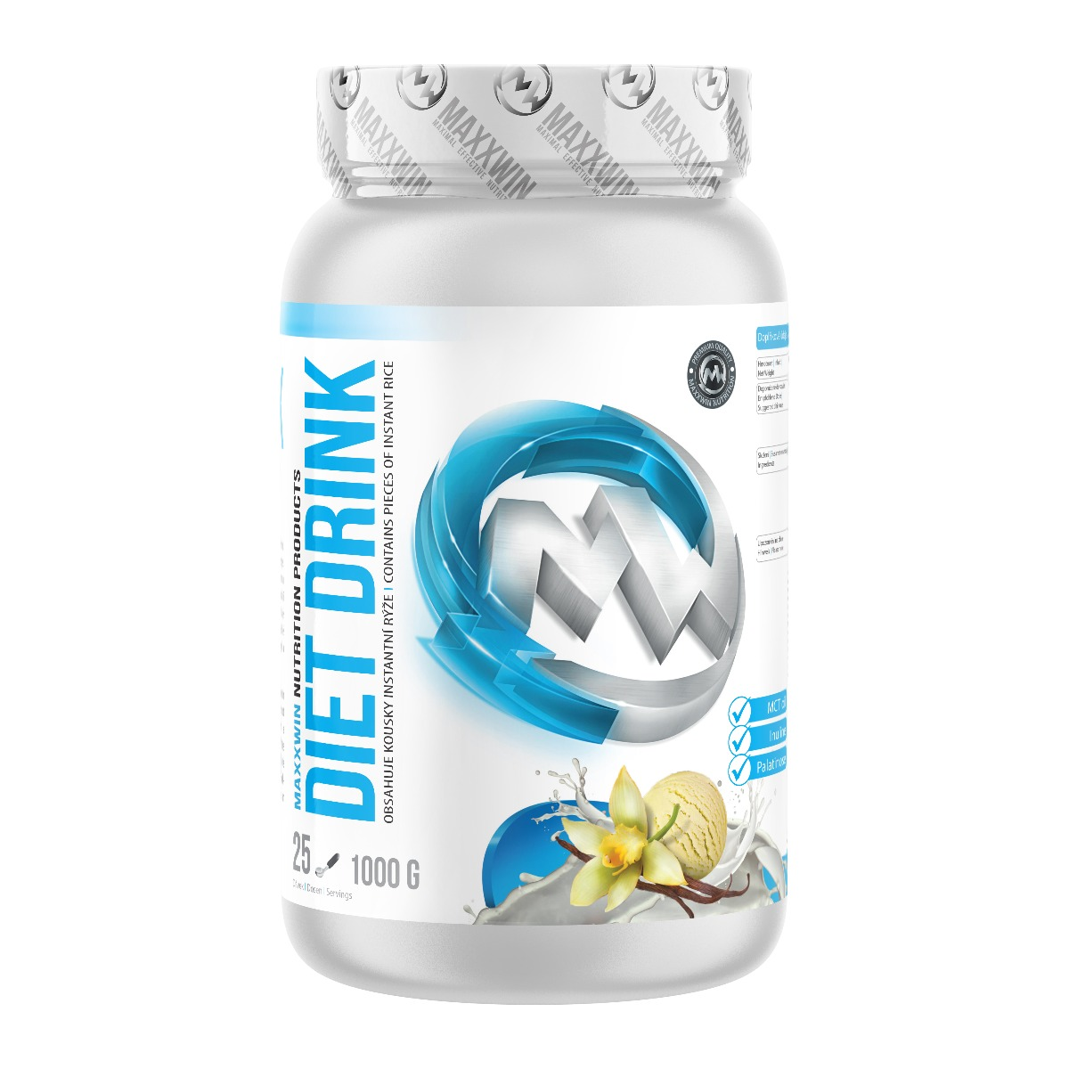 MAXXWIN DIET DRINK vanilka 1000 g