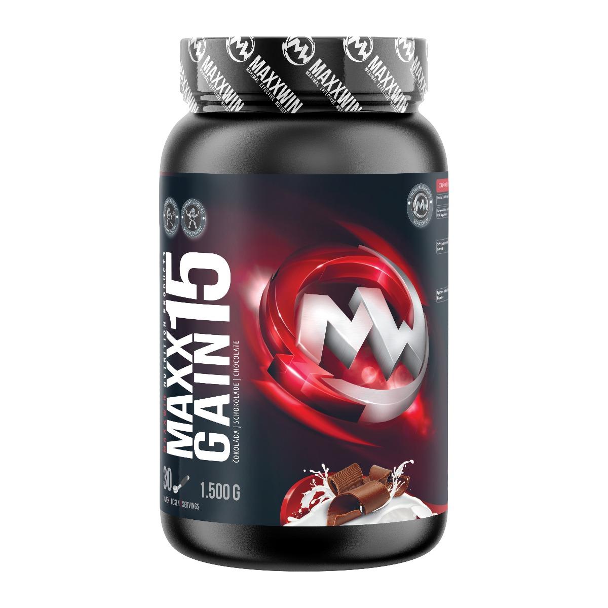 MAXXWIN MAXX GAIN 15 tmavá čokoláda 1500 g
