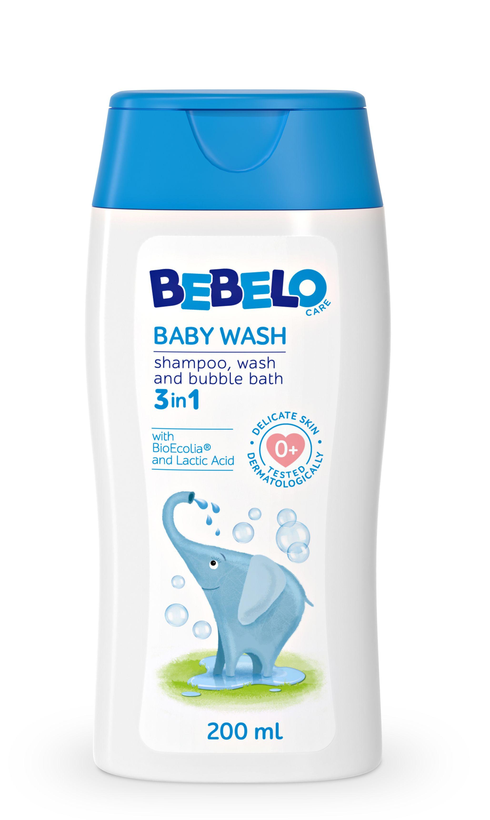 BEBELO Baby wash mycí gel 200 ml