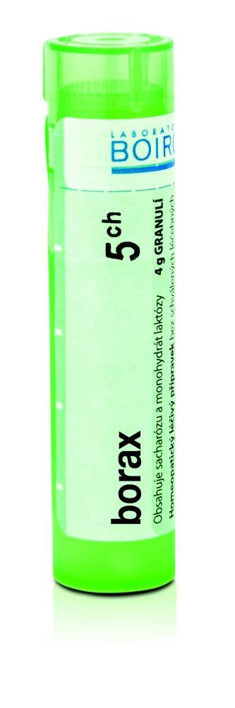 Boiron BORAX CH5 granule 4 g