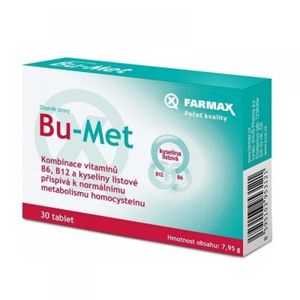 Farmax Bu-Met 30 tablet
