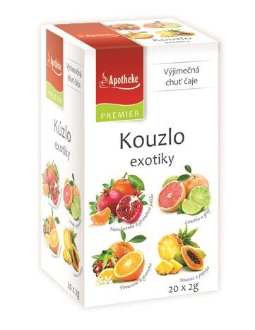 Apotheke Kouzlo exotiky 4v1 porcovaný čaj 20x2 g