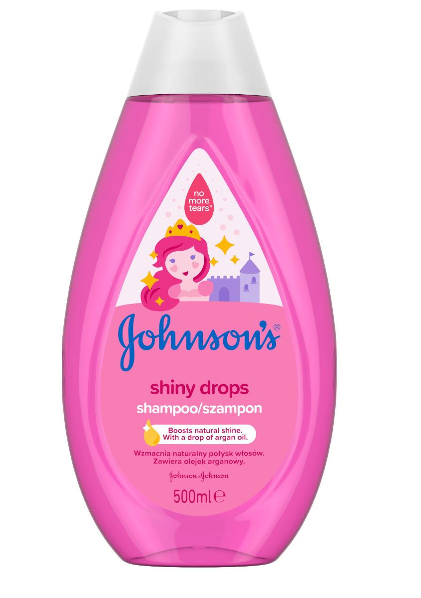Johnson's Baby Shiny Drops šampon 500 ml