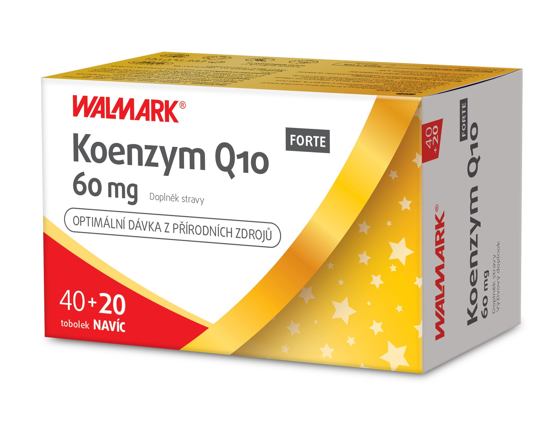 Walmark Koenzym Q10 FORTE 60 mg 40+20 tobolek
