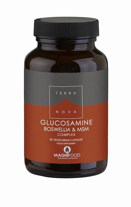 Terranova Kloubní výživa Glukosamin, Boswellia a MSM komplex 50 kapslí