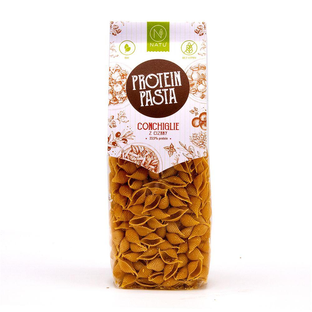 NATU Protein Pasta Conchiglie cizrna BIO 250 g