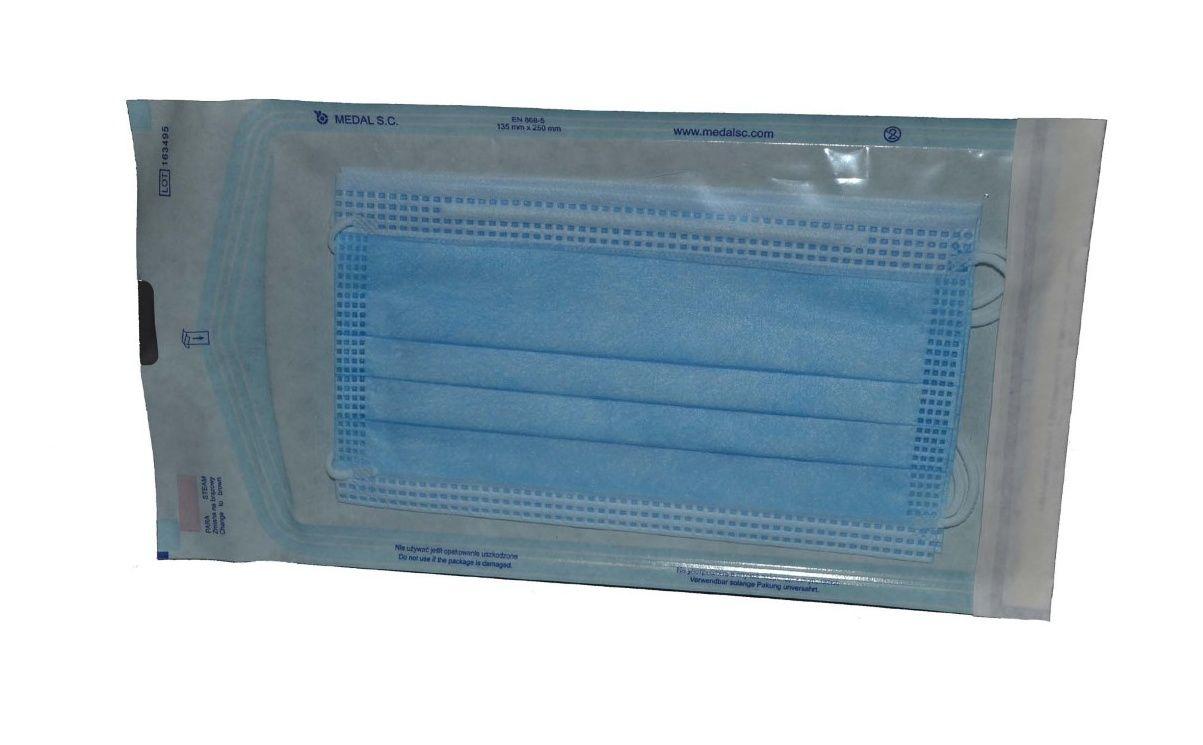 Levně Steriwund Rouška chirurgická s gumičkami 2 ks