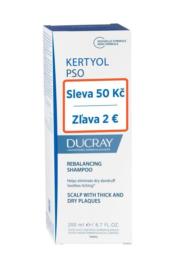 E-shop Ducray Kertyol PSO Pečující šampon 200 ml