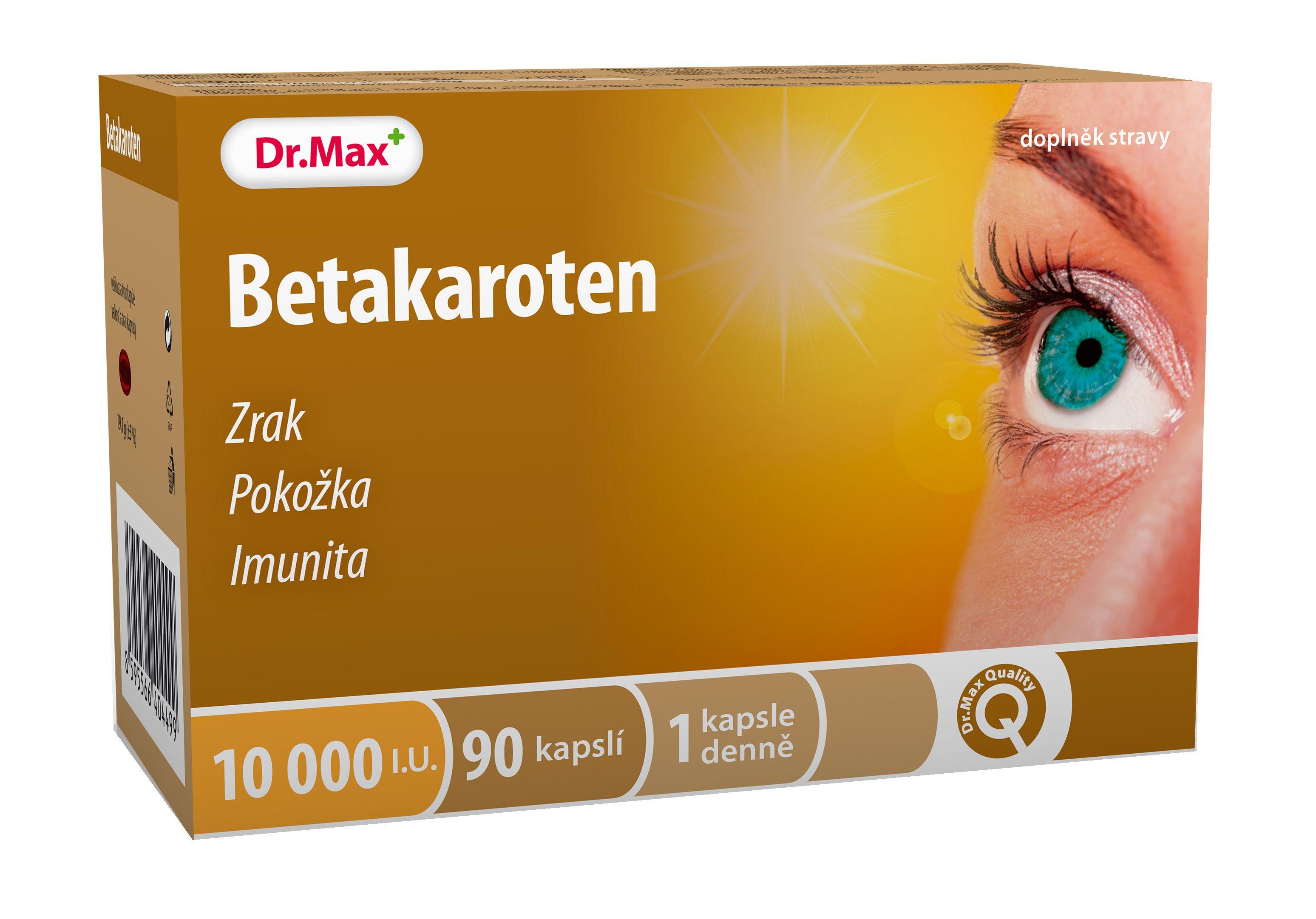Levně Dr.Max Betakaroten 6 mg 90 kapslí