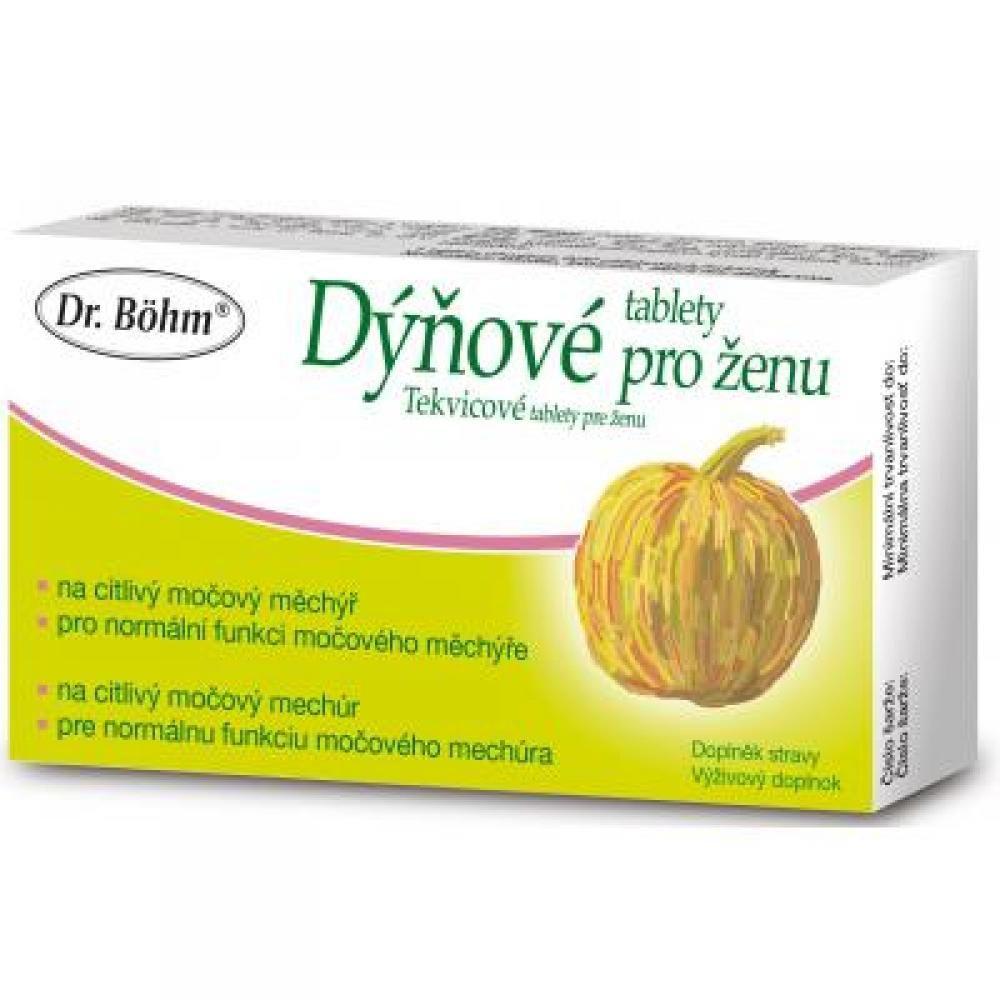 Dr. Böhm Dýňové tablety pro ženu 30 tablet