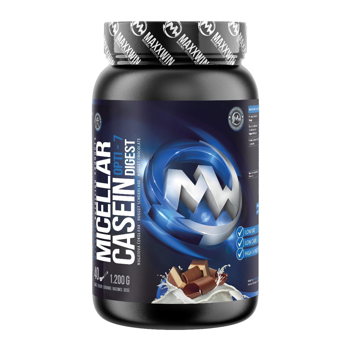 MAXXWIN MICELLAR CASEIN nugátová čokoláda 1200 g