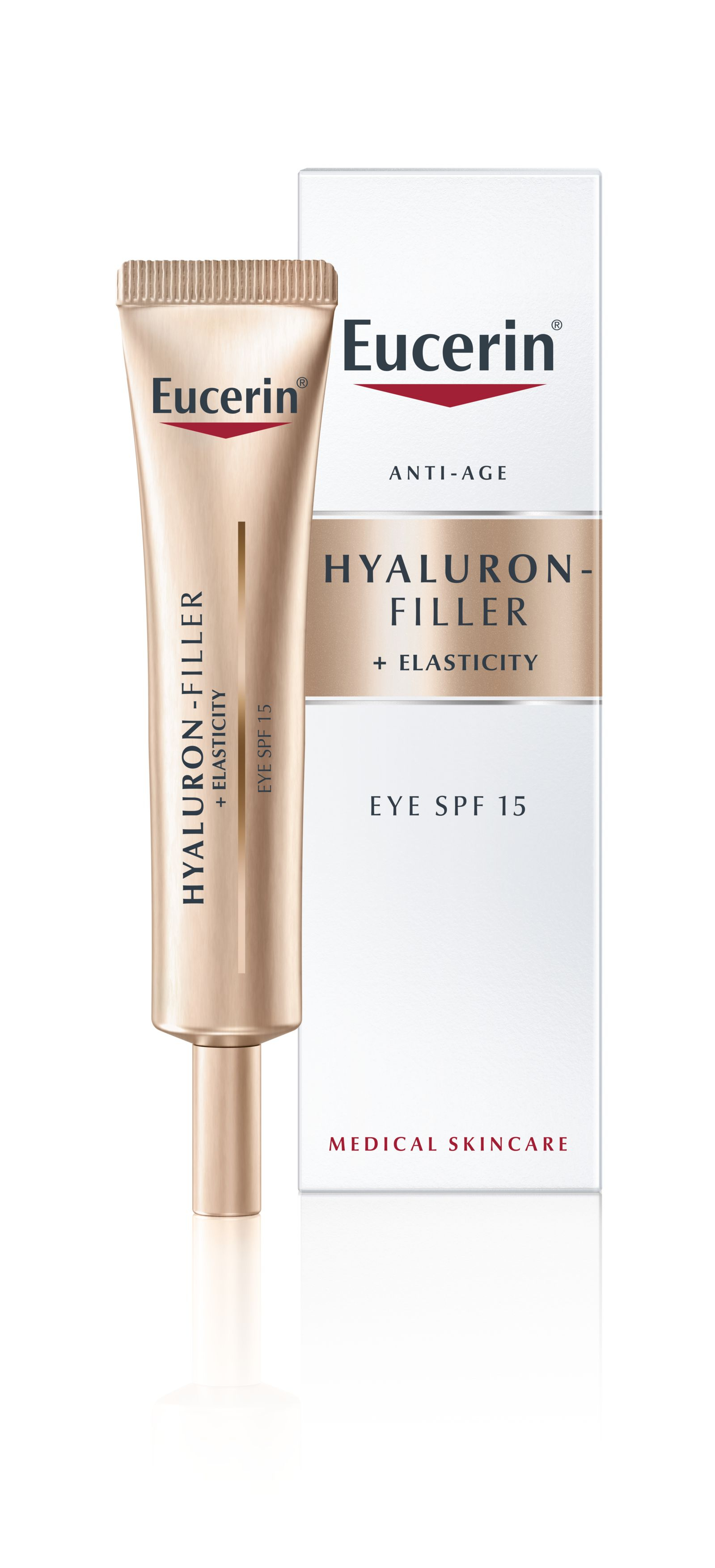 Eucerin Hyaluron-Filler + Elasticity oční krém 15 ml