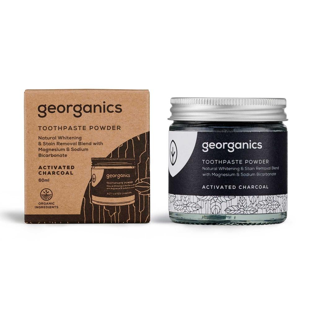 Georganics Aktivní uhlí zubní prášek 60 ml