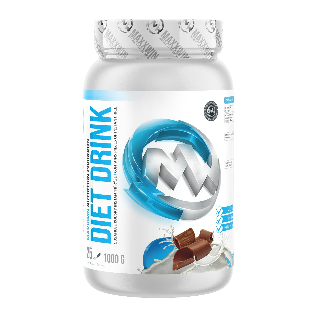 MAXXWIN DIET DRINK čokoláda 1000 g