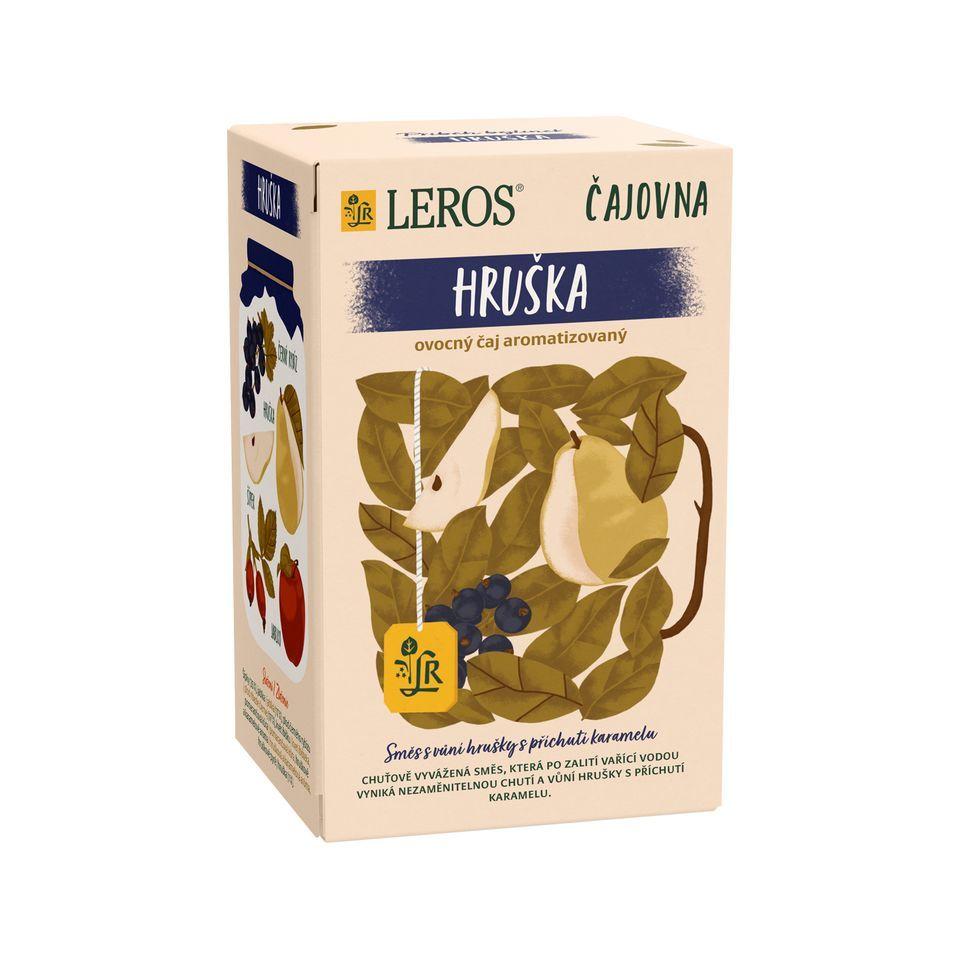 Leros Čajovna Hruška porcovaný čaj 20x2,5 g