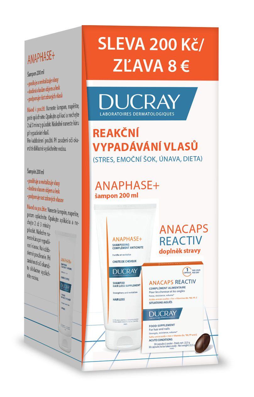 E-shop Ducray Anaphase+ šampon 200 ml + Anacaps Reactive 30 tobolek