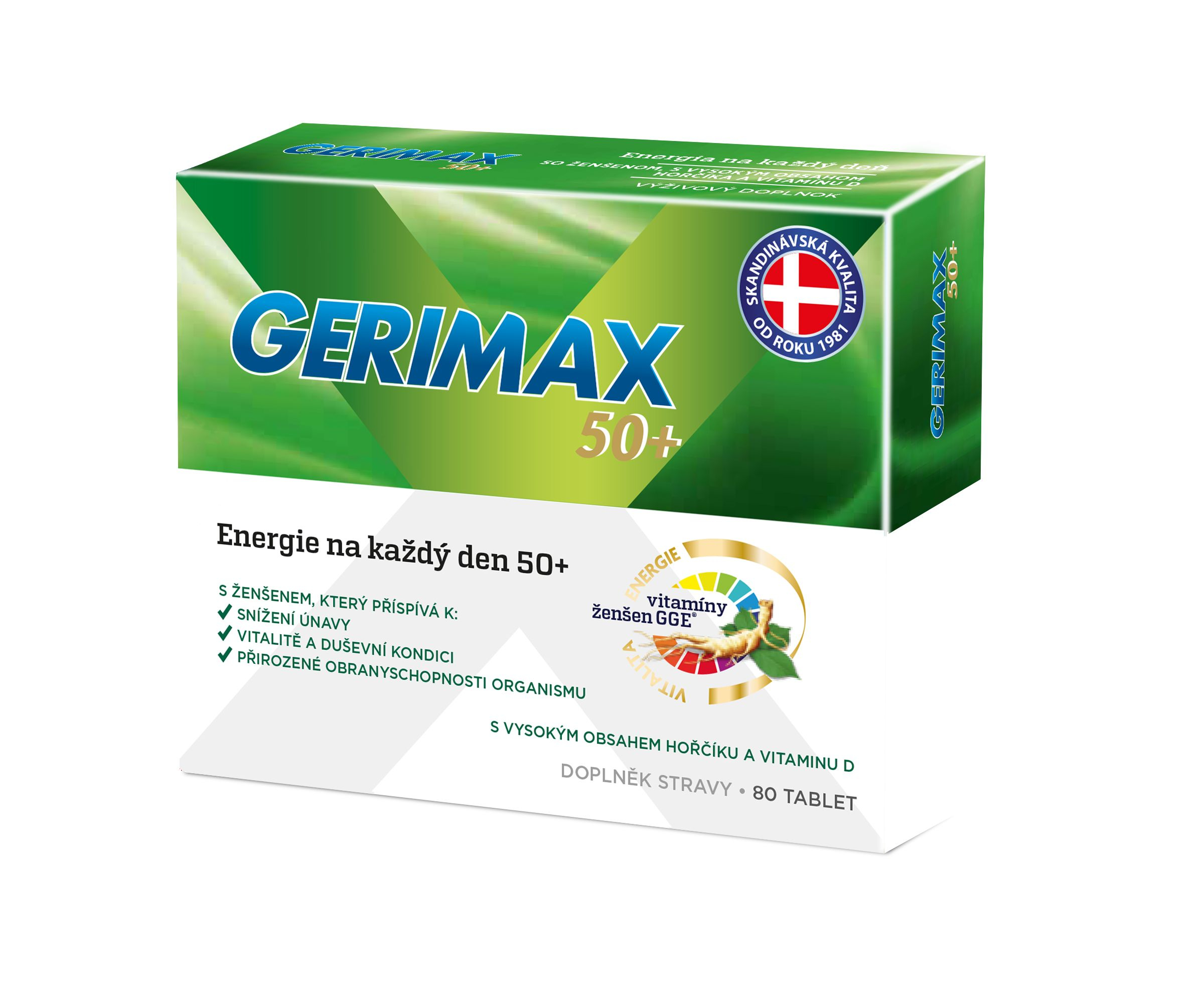 E-shop Gerimax 50+ 80 tablet