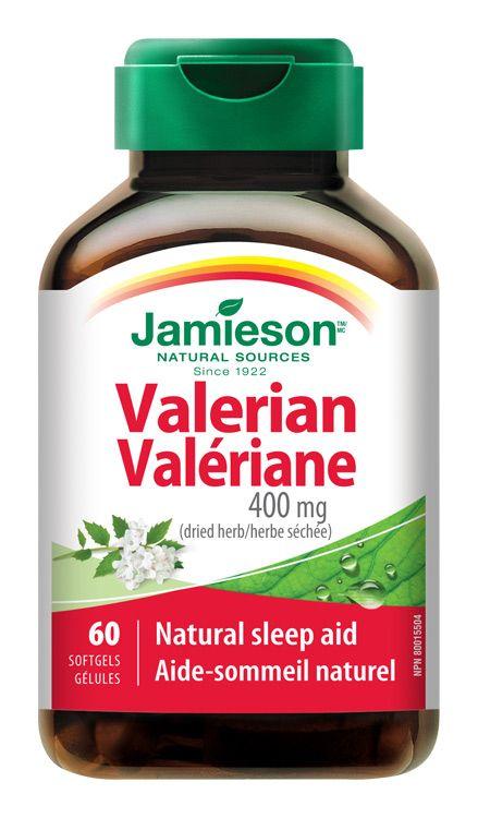 Jamieson Valeriana Kozl�k l�ka?sk� 400 mg 60 kapsl�