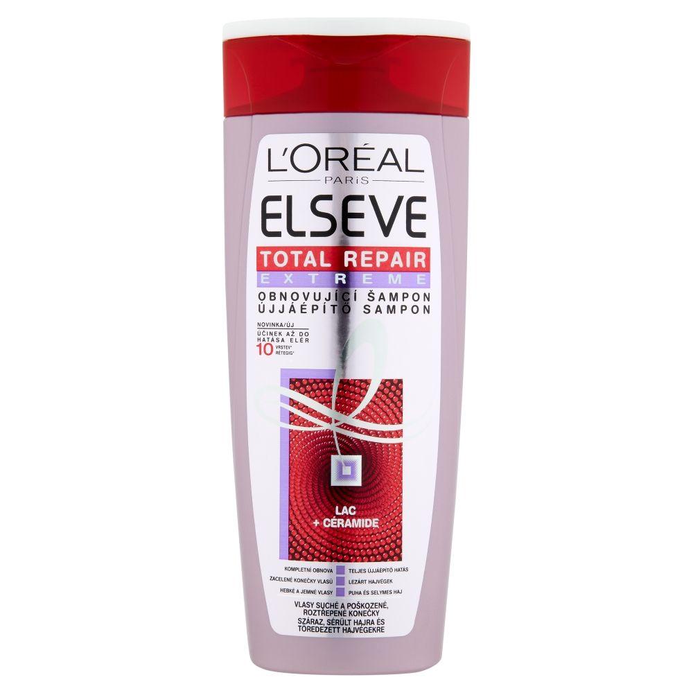 Loréal Paris Elseve Total Repair Extreme obnovující šampon na extrémně poškozené vlasy 250 ml