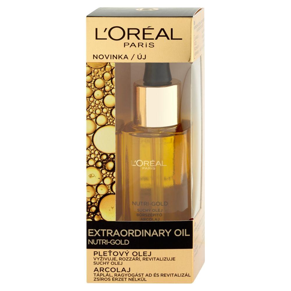 Loréal Paris Nutri-Gold Pleťový olej 30 ml