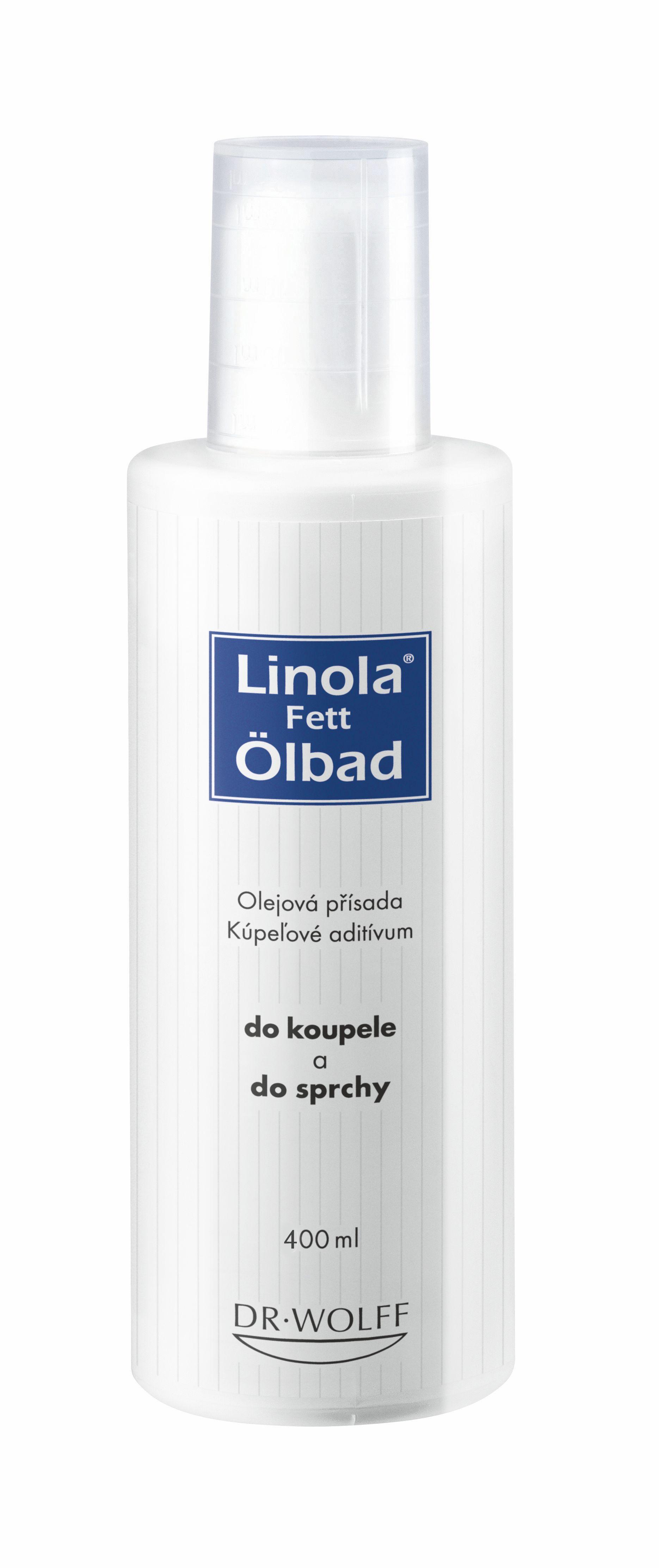 Linola-fett Ölbad přísada do koupele 400 ml