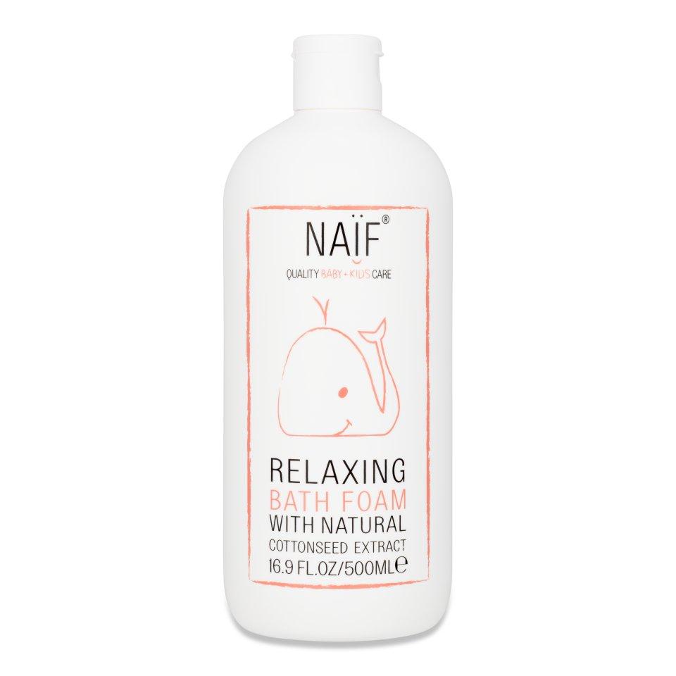 NAIF Relaxační pěna do koupele 500 ml