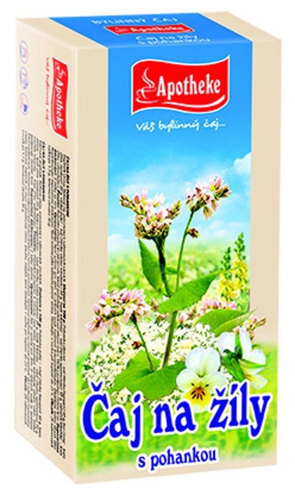 Apotheke Čaj na žíly nálevové sáčky 20x1,5 g