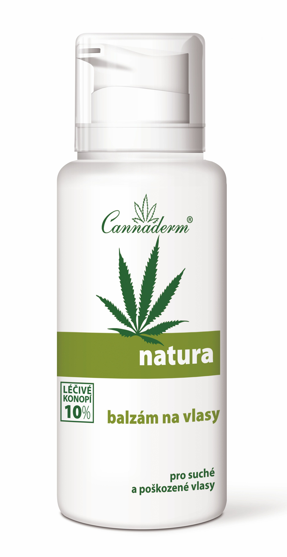 Cannaderm Natura Balzám na vlasy 200 ml