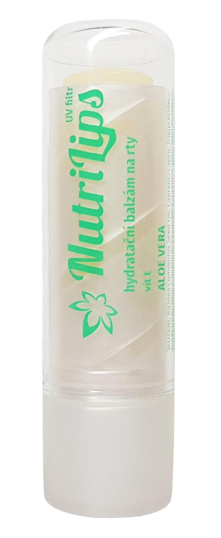 Nutricius Nutrilips Aloe Vera balzám na rty 4,8 g