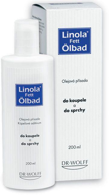 Linola-fett Ölbad přísada do koupele 200 ml