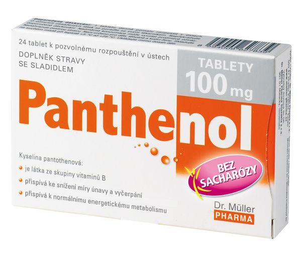 Dr. Müller Panthenol 100 mg 24 tablet