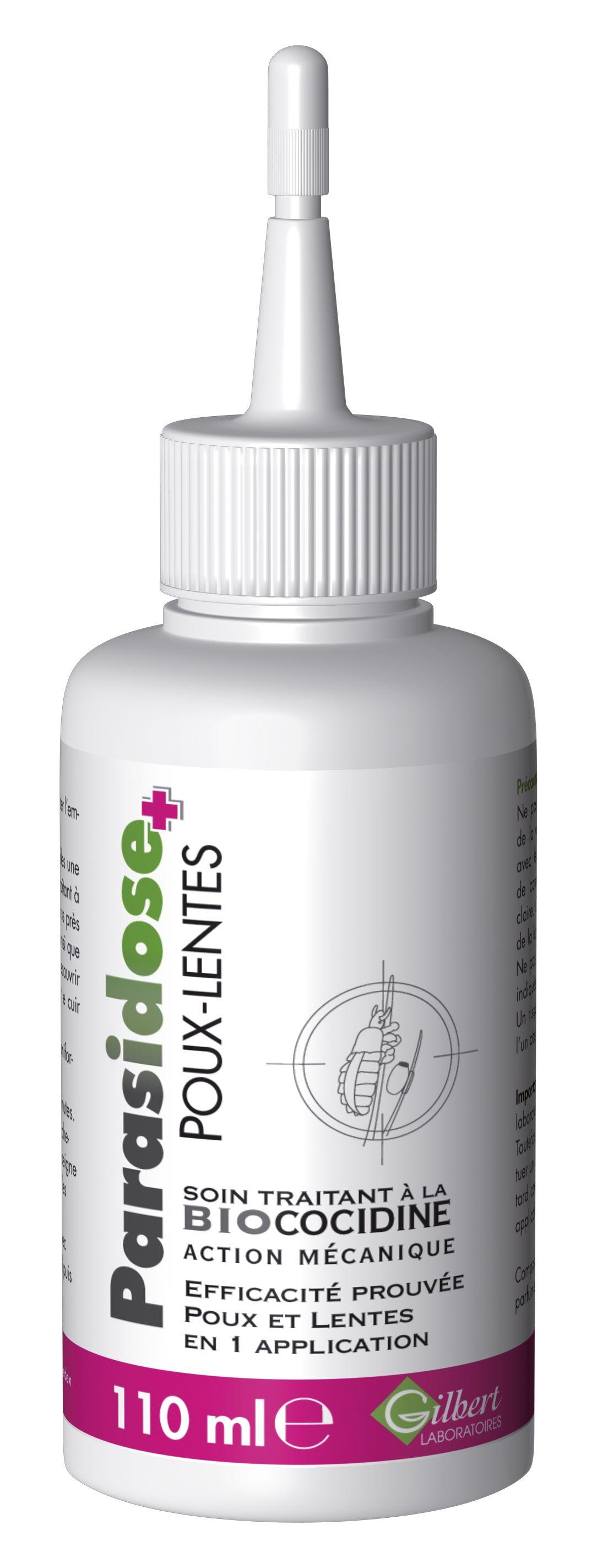 Fotografie Parasidose Biococidine přírodní odvšivovací přípravek 110 ml