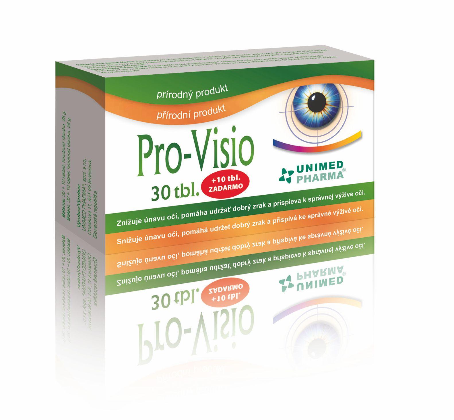 Pro-Visio 30+10 tablet