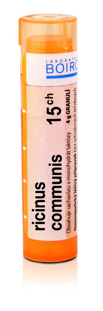 Boiron RICINUS COMMUNIS CH15 granule 4 g