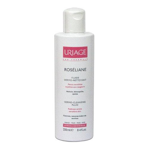 E-shop Uriage Roséliane Dermočisticí fluid pro citlivou pleť se sklonem k zčervenání 250 ml