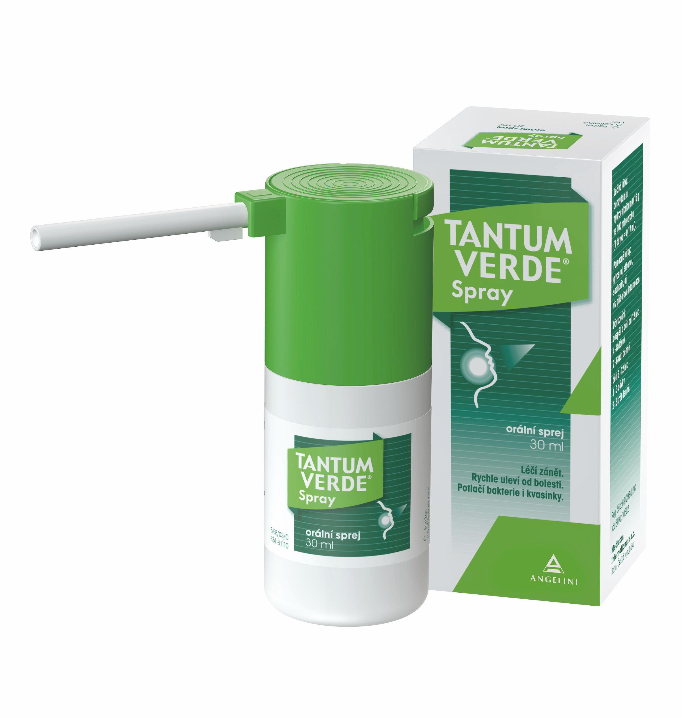 E-shop Tantum verde Spray 0,15% ústní sprej 30 ml
