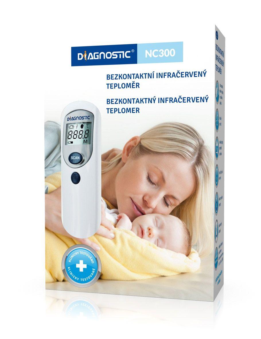 Diagnostic NC300 Teploměr infračervený bezdotykový 1 ks