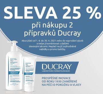 Ducray -25% při 2 ks