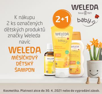 Weleda Dětská + NAVÍC Šampon